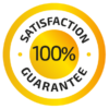 Satisfatcion - Guarantee 100%