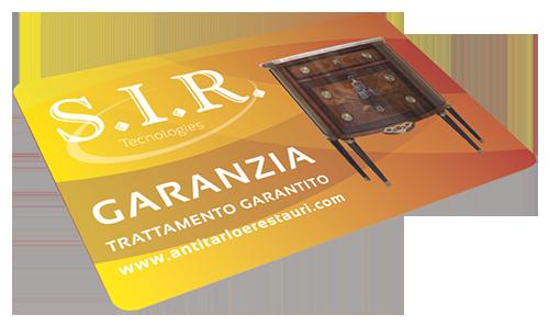 Antitarlo e Restauri - Sir Tecnologies - Servizi innovati per restauri - Sava - Taranto